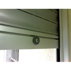 Zócalo extrusión para persiana enrrollable de aluminio